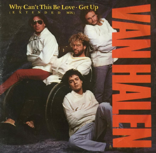 "Van Halen ‎- Why Can't This Be Love (Extended Mix) (12"") (G+/G+)"